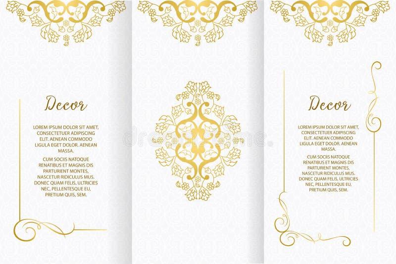 Διανυσματικά διακοσμητικά πλαίσιο ή γενέθλια και ευχετήρια κάρτα, γαμήλια πρόσκληση απεικόνιση αποθεμάτων