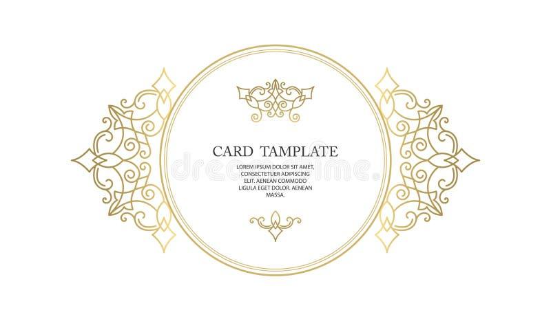 Διανυσματικά διακοσμητικά πλαίσιο ή γενέθλια και ευχετήρια κάρτα, γαμήλια πρόσκληση ελεύθερη απεικόνιση δικαιώματος