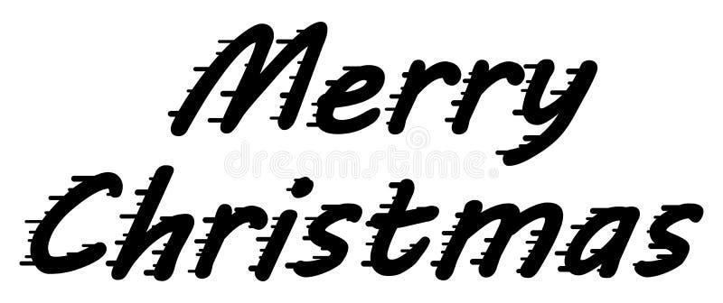 Διανυσματικά συγχαρητήρια Χαρούμενα Χριστούγεννας για τις αφίσες σας, προσκλήσεις, εμβλήματα ελεύθερη απεικόνιση δικαιώματος