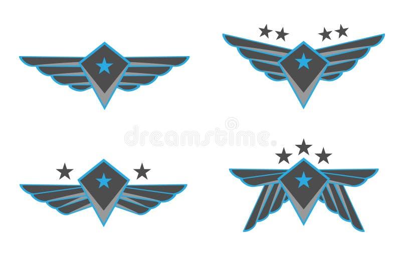 διανυσματικά φτερά απεικόνισης στοκ φωτογραφία με δικαίωμα ελεύθερης χρήσης