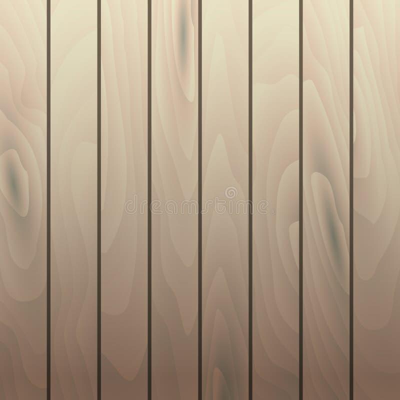 Διανυσματικές ξύλινες σανίδες σύστασης σιταριού πίνακας ξύλινος ελεύθερη απεικόνιση δικαιώματος