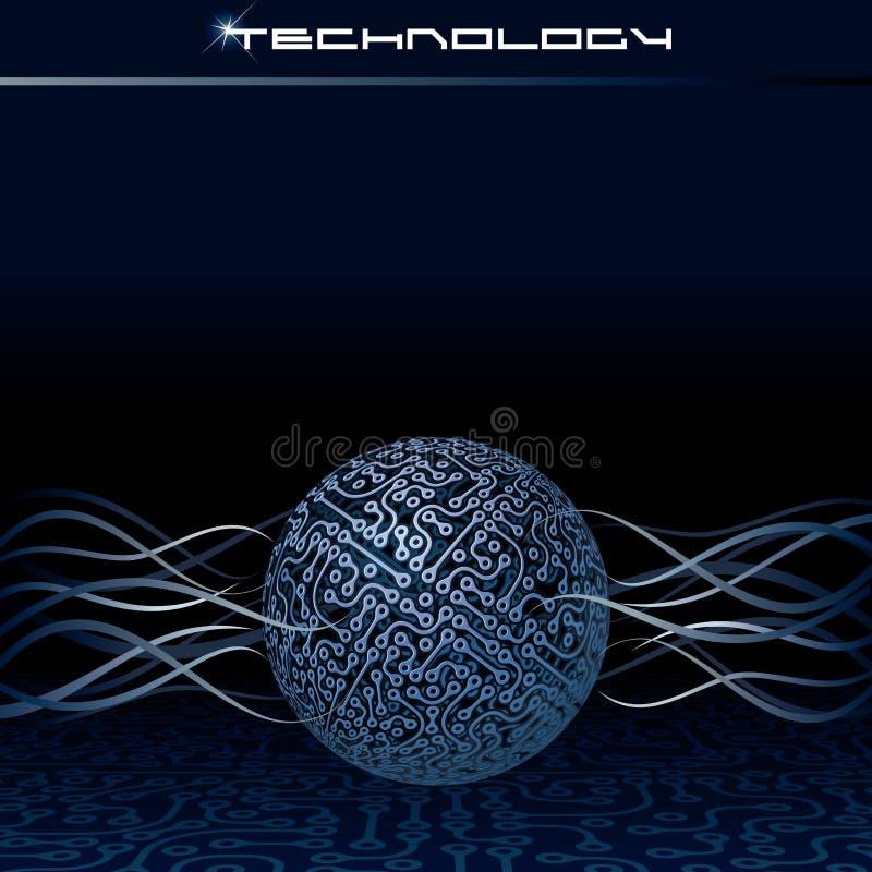 Διανυσματική έννοια τεχνολογίας διανυσματική απεικόνιση