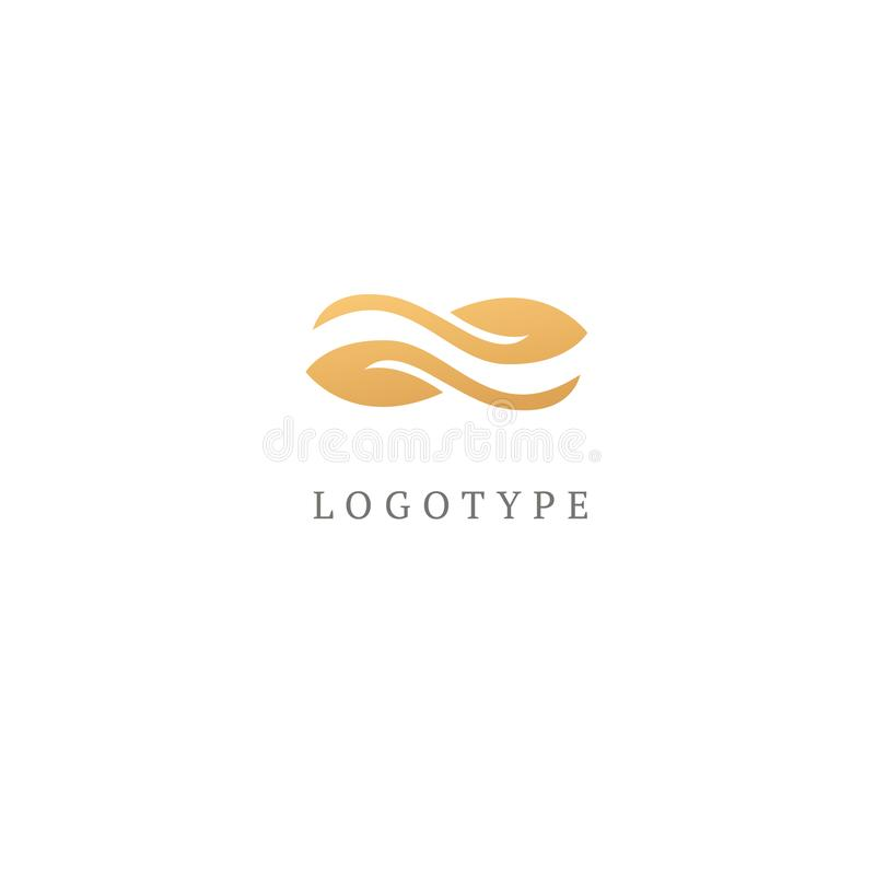 Διανυσματική απεικόνιση, γραφικός Ιστός σημειώσεων σχεδίου logotype Αφηρημένο διανυσματικό σχέδιο εικονιδίων λογότυπων μουσικής Σ διανυσματική απεικόνιση