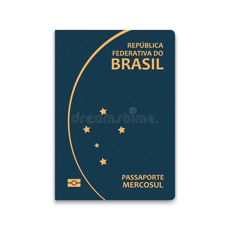 Διανυσματική απεικόνιση διαβατηρίων διανυσματική απεικόνιση