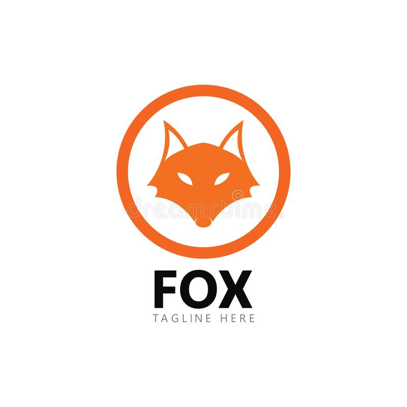 Διανυσματική απεικόνιση εικονιδίων προτύπων λογότυπων αλεπούδων απεικόνιση αποθεμάτων