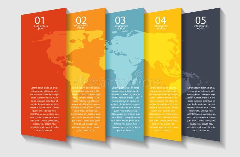 Διανυσματική απεικόνιση επιχειρησιακών προτύπων Infographic διανυσματική απεικόνιση