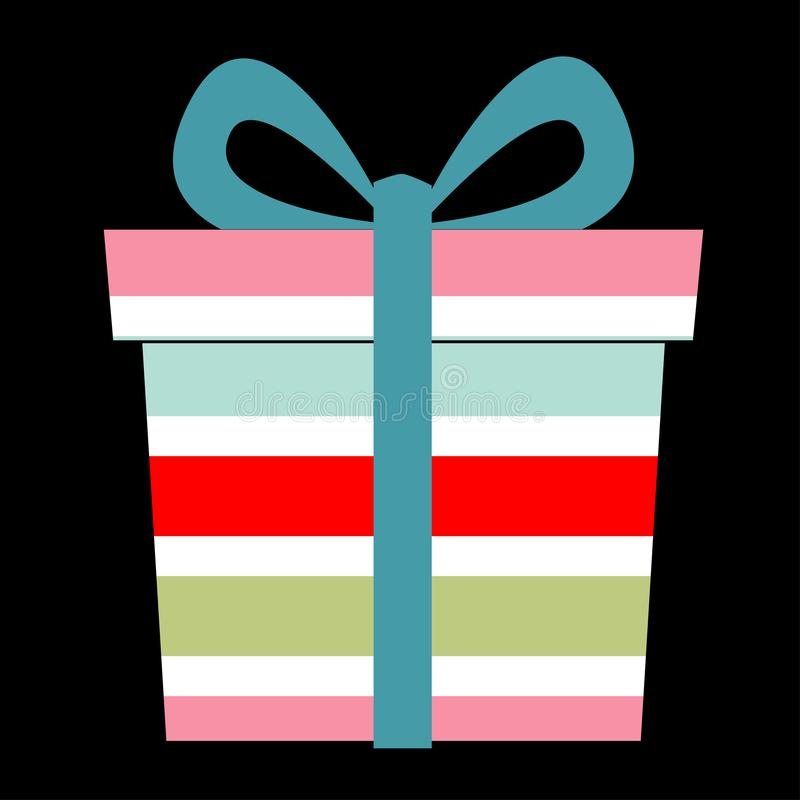Διανυσματική απεικόνιση κιβωτίων δώρων απεικόνιση αποθεμάτων