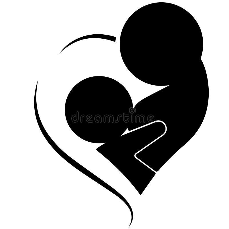 Διανυσματική απεικόνιση μητέρων θηλασμού από τα crafteroks διανυσματική απεικόνιση