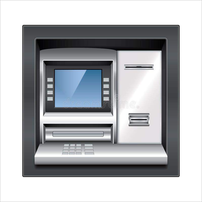 Διανυσματική απεικόνιση μηχανών του ATM διανυσματική απεικόνιση