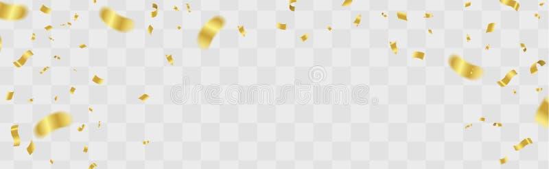 Διανυσματική απεικόνιση μπαλονιών κομμάτων Κομφετί και σημαία ri κορδελλών διανυσματική απεικόνιση