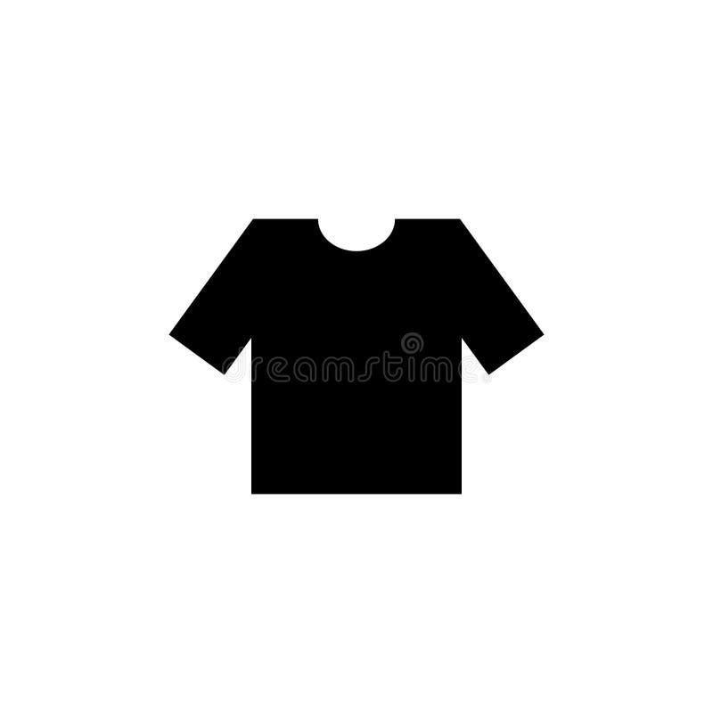 Διανυσματική απεικόνιση μπλουζών εικονιδίων fllat διανυσματική απεικόνιση
