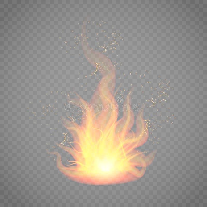 Διανυσματική απεικόνιση να φλεθεί απεικόνιση αποθεμάτων