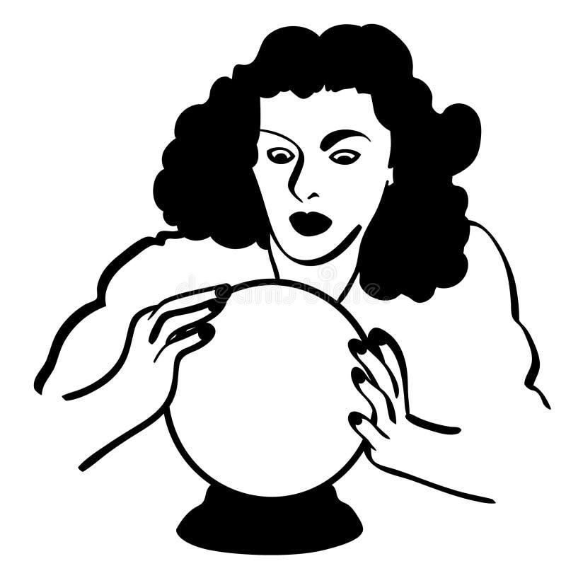 Διανυσματική απεικόνιση σφαιρών κρυστάλλου από τα crafteroks διανυσματική απεικόνιση