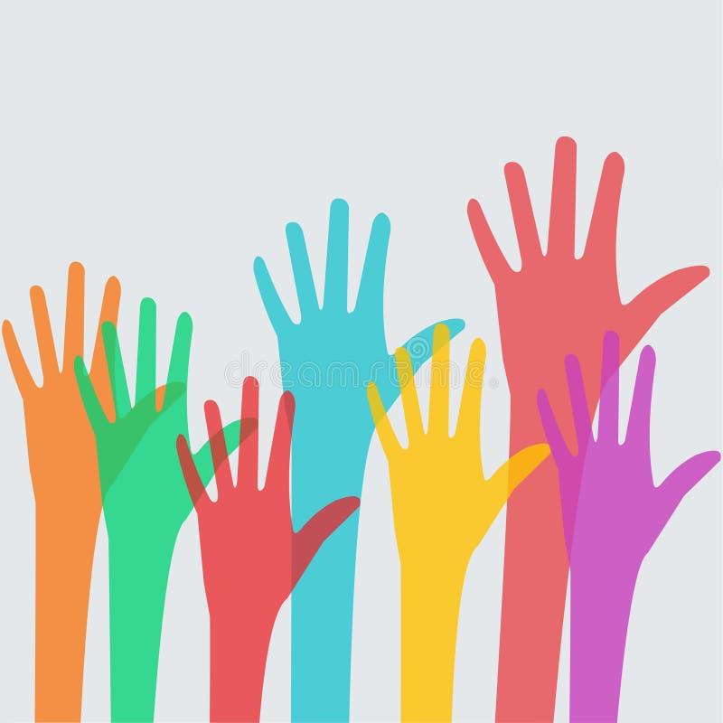 Διανυσματική απεικόνιση σχεδίου έννοιας ποικιλομορφίας ελεύθερη απεικόνιση δικαιώματος