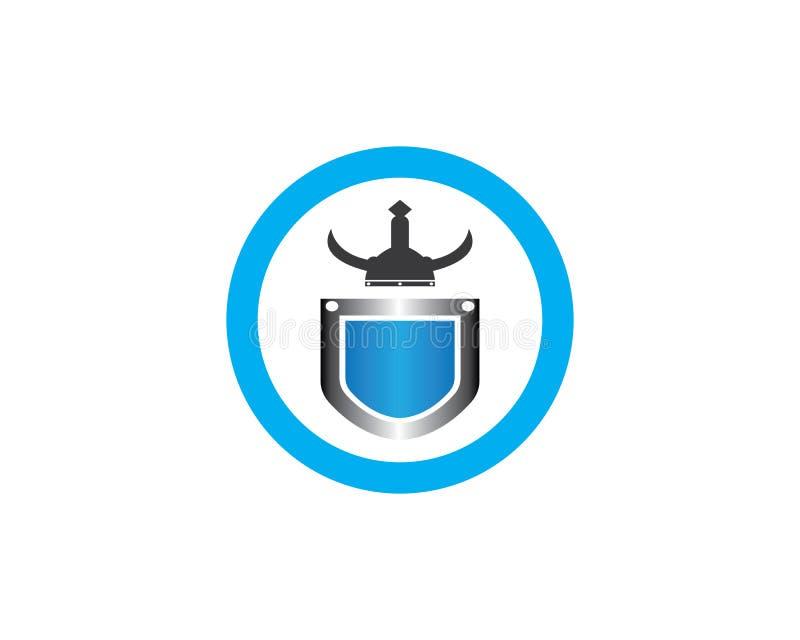 Διανυσματική απεικόνιση σχεδίου λογότυπων πολεμικών εικονιδίων απεικόνιση αποθεμάτων