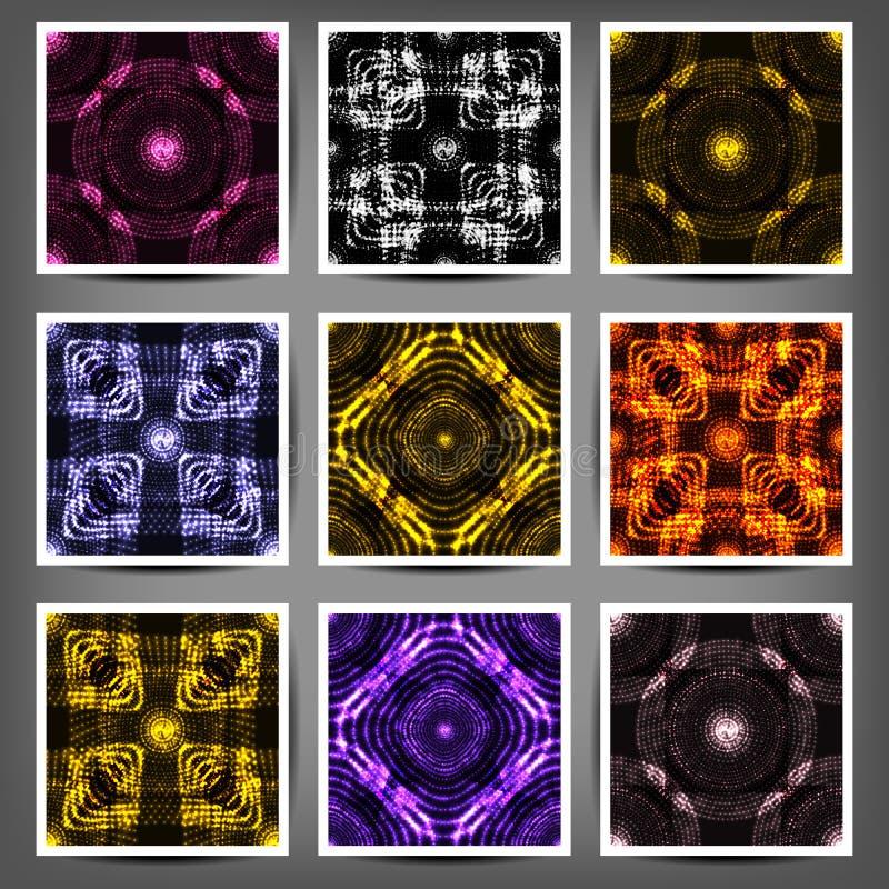 Διανυσματική απεικόνιση του γεωμετρικού αραβικού άνευ ραφής σχεδίου για το σχέδιο απεικόνιση αποθεμάτων