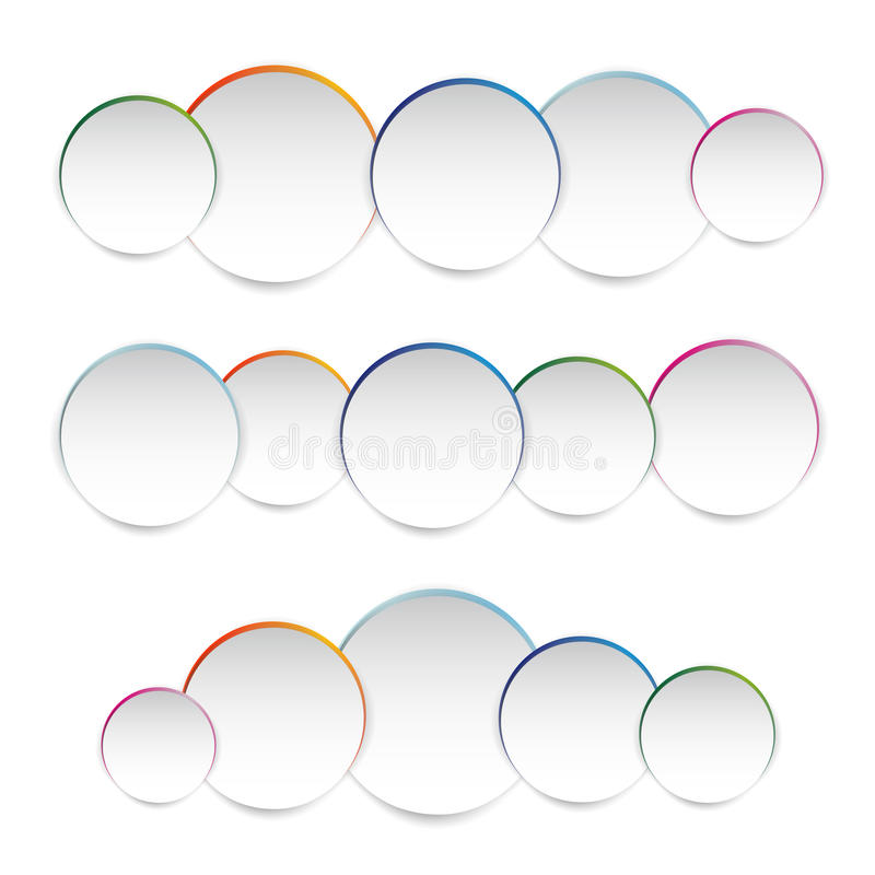 Διανυσματική απεικόνιση του κύκλου της Λευκής Βίβλου ελεύθερη απεικόνιση δικαιώματος