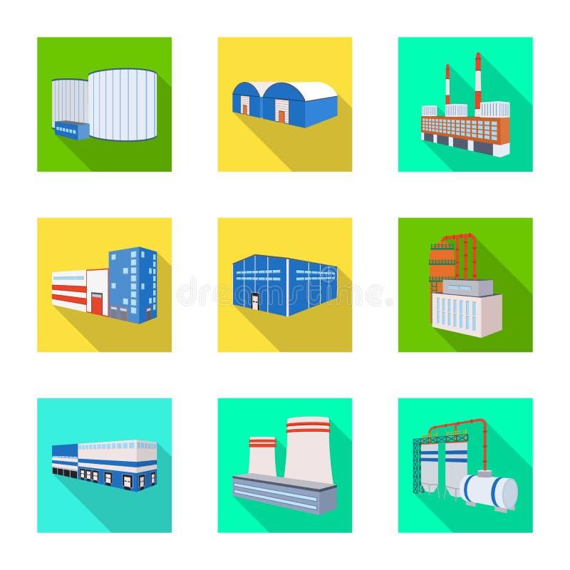 Διανυσματική απεικόνιση του συμβόλου κατασκευής και εξοπλισμού Συλλογή του διανυσματικού εικονιδίου κατασκευής και κατασκευής για απεικόνιση αποθεμάτων