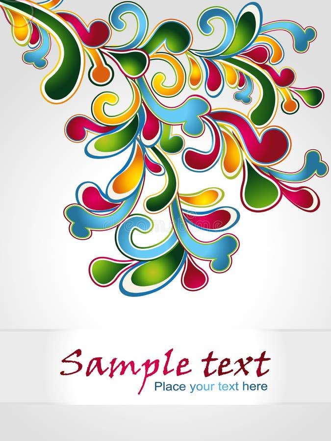 Download Διανυσματική απεικόνιση του Floral σχεδίου στοιχείων Διανυσματική απεικόνιση - εικονογραφία από διακόσμηση, floral: 22787508