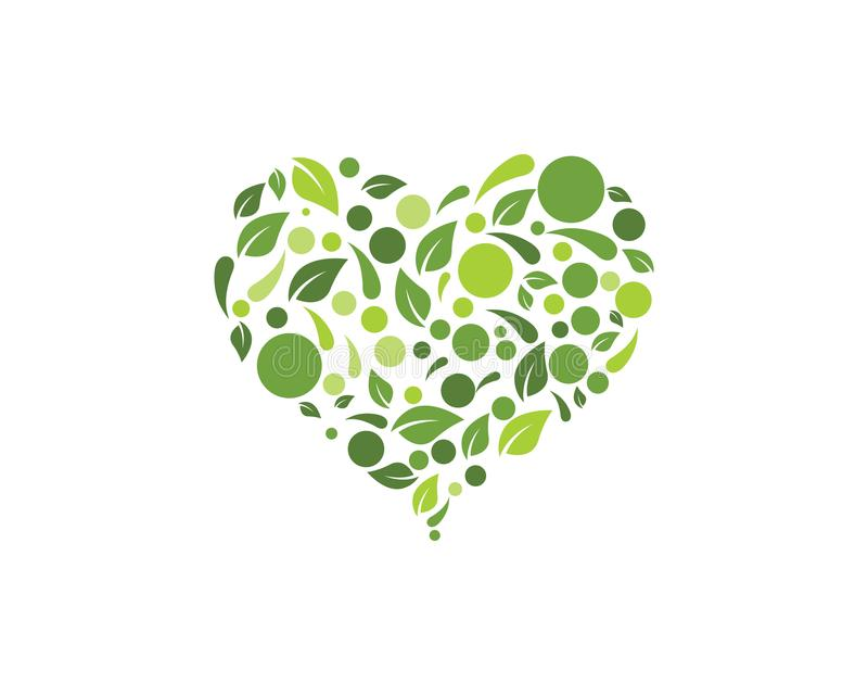 Διανυσματική απεικόνιση υποβάθρου φύλλων φύσης Eco διανυσματική απεικόνιση
