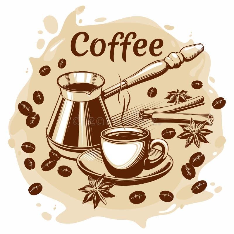 Διανυσματική απεικόνιση 10eps καφέ στοκ εικόνα με δικαίωμα ελεύθερης χρήσης