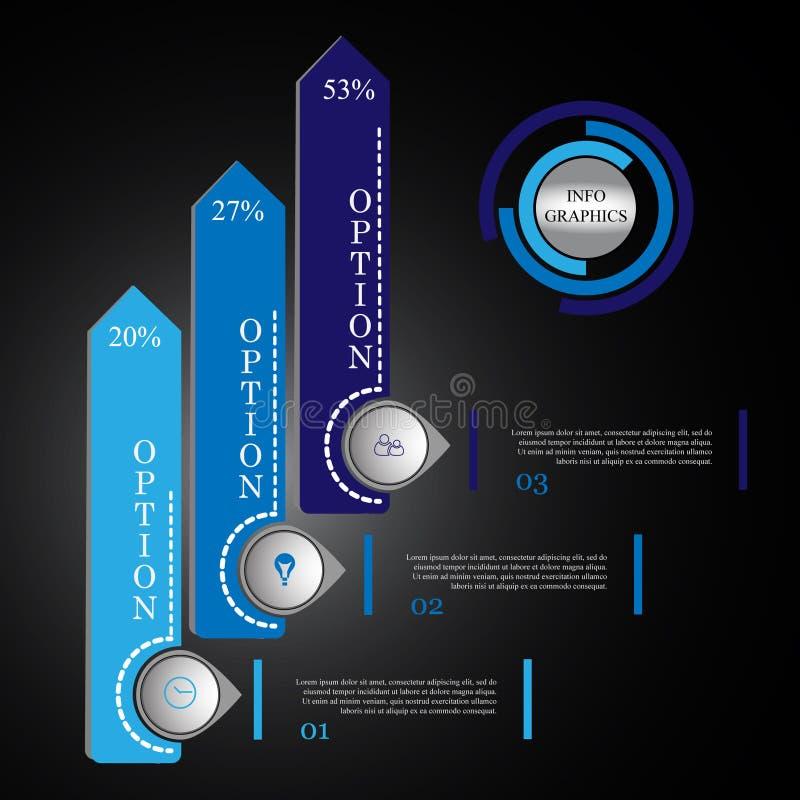 Διανυσματική απεικόνιση Iinfographics απεικόνιση αποθεμάτων