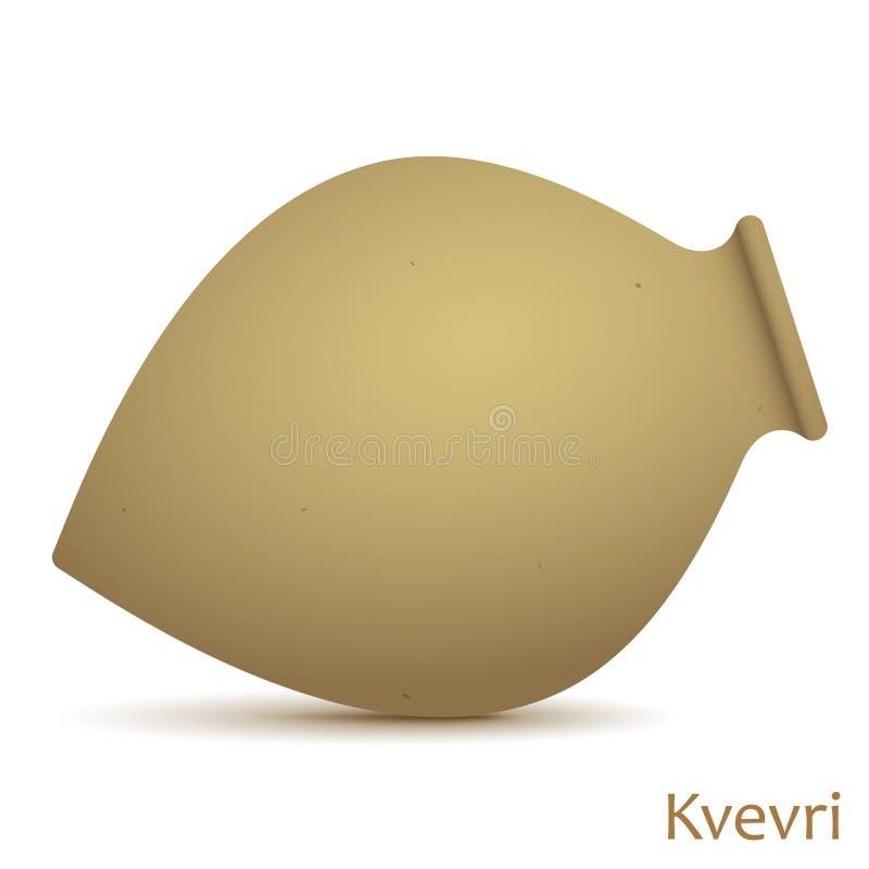 Διανυσματική απεικόνιση Kvevri ελεύθερη απεικόνιση δικαιώματος