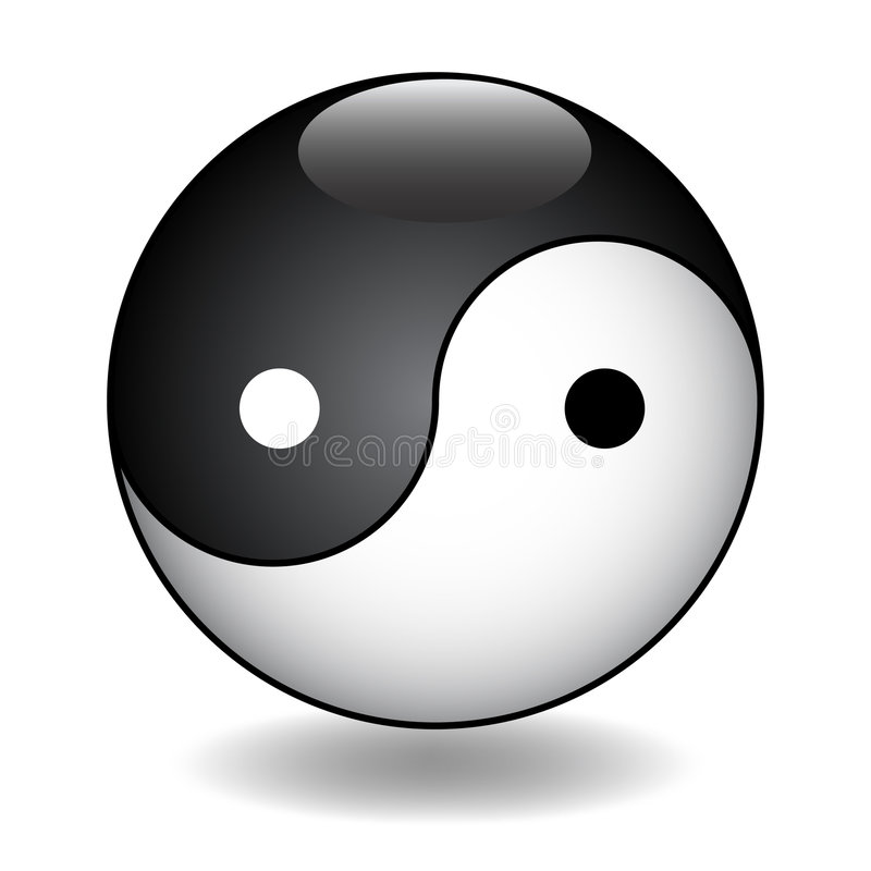 Διανυσματική απεικόνιση Yang Ying διανυσματική απεικόνιση