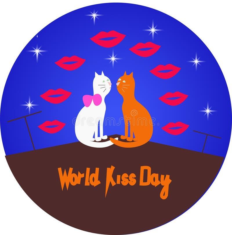 Διανυσματική εικόνα ημέρας παγκόσμιων φιλιών διανυσματική απεικόνιση