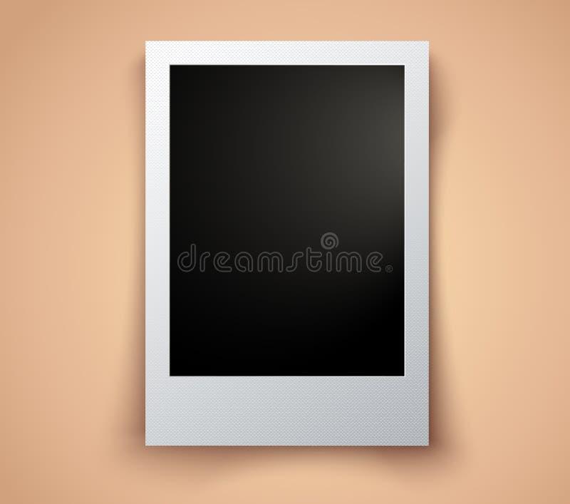 Διανυσματική εκλεκτής ποιότητας φωτογραφία απεικόνιση αποθεμάτων