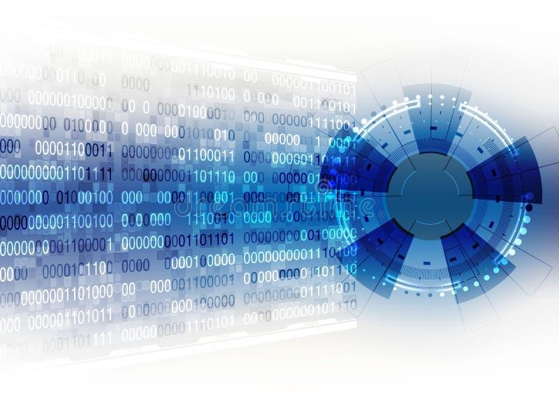 Διανυσματική επιστήμη στοιχείων επικοινωνίας τεχνολογίας υποβάθρου αφηρημένη στοκ εικόνα με δικαίωμα ελεύθερης χρήσης