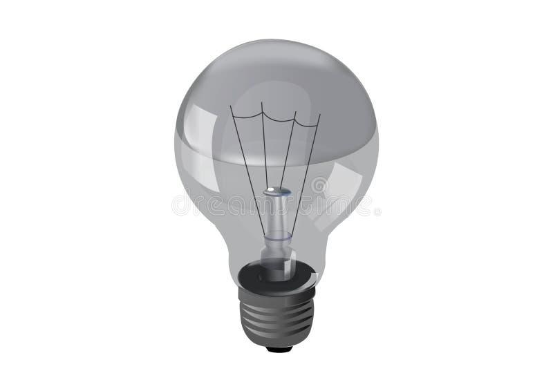 Διανυσματική λάμπα φωτός εικόνας απεικόνιση αποθεμάτων