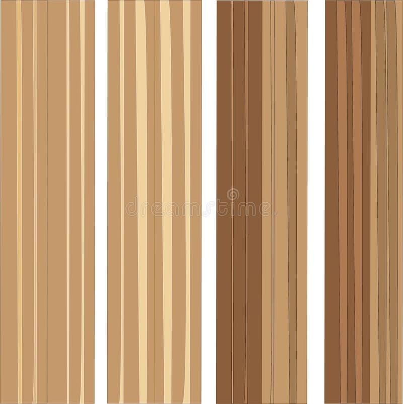 Διανυσματική ξύλινη σύσταση παλαιές επιτροπές ανασκόπησης Αναδρομική εκλεκτής ποιότητας ξύλινη σύσταση Grunge, υπόβαθρο κατακόρυφ διανυσματική απεικόνιση