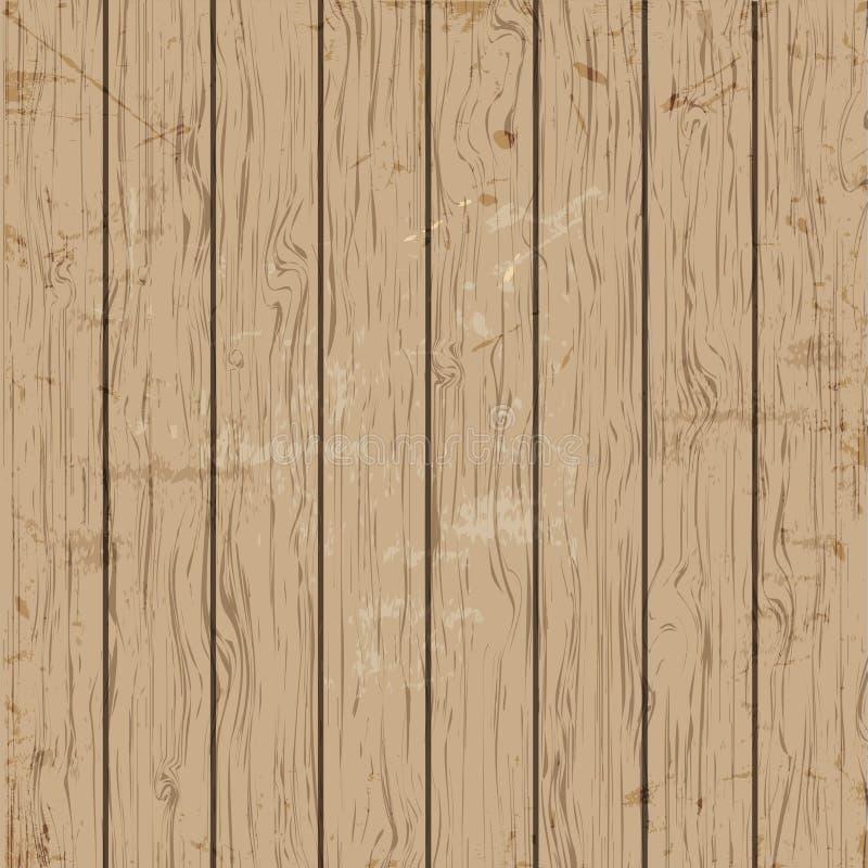 Διανυσματική παλαιά ξύλινη σύσταση διανυσματική απεικόνιση