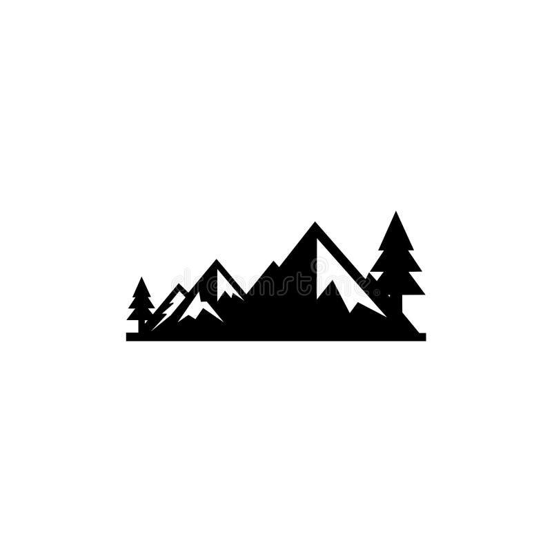 Διανυσματική περίληψη λογότυπων Μ hexagon διανυσματική απεικόνιση
