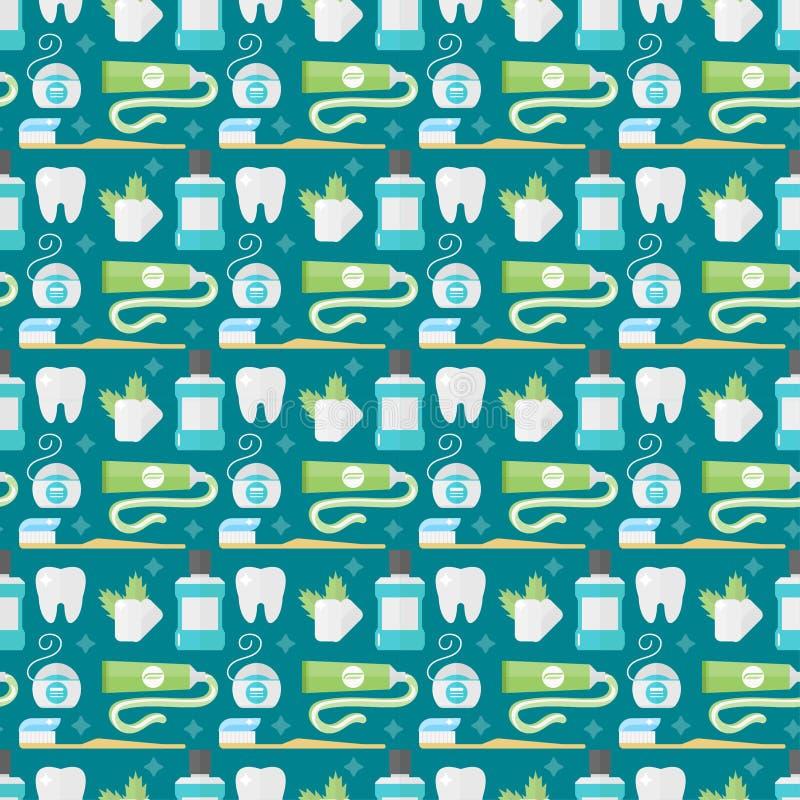 Διανυσματική σκιαγραφία εικονιδίων δοντιών διανυσματική απεικόνιση