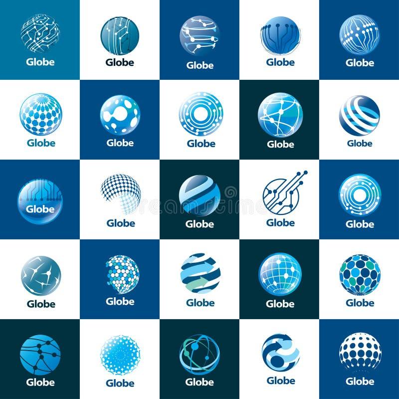Διανυσματική σφαίρα λογότυπων ελεύθερη απεικόνιση δικαιώματος
