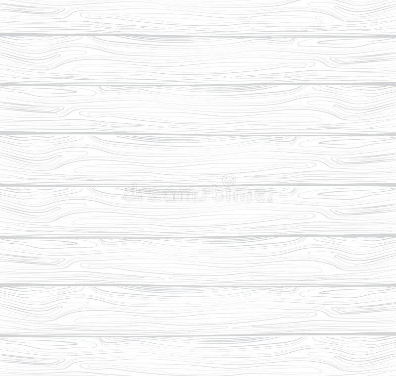 Διανυσματική σύσταση του άσπρου ξύλου Άσπρη ξύλινη επένδυση Πίνακας με τη σύσταση του δέντρου Υπόβαθρο απεικόνιση αποθεμάτων