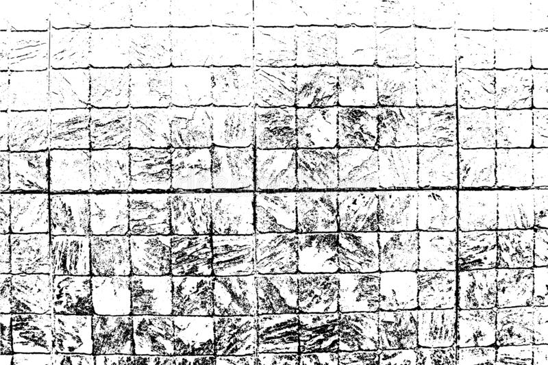 Διανυσματική σύσταση τούβλων και πετρών, αφηρημένο υπόβαθρο Κεραμωμένος τοίχος απεικόνιση αποθεμάτων