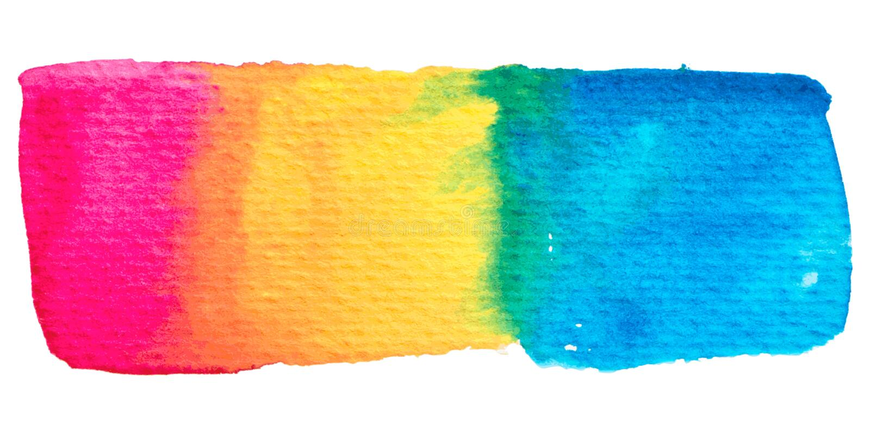 Διανυσματική σύσταση χρωμάτων ουράνιων τόξων που απομονώνεται στο λευκό ελεύθερη απεικόνιση δικαιώματος
