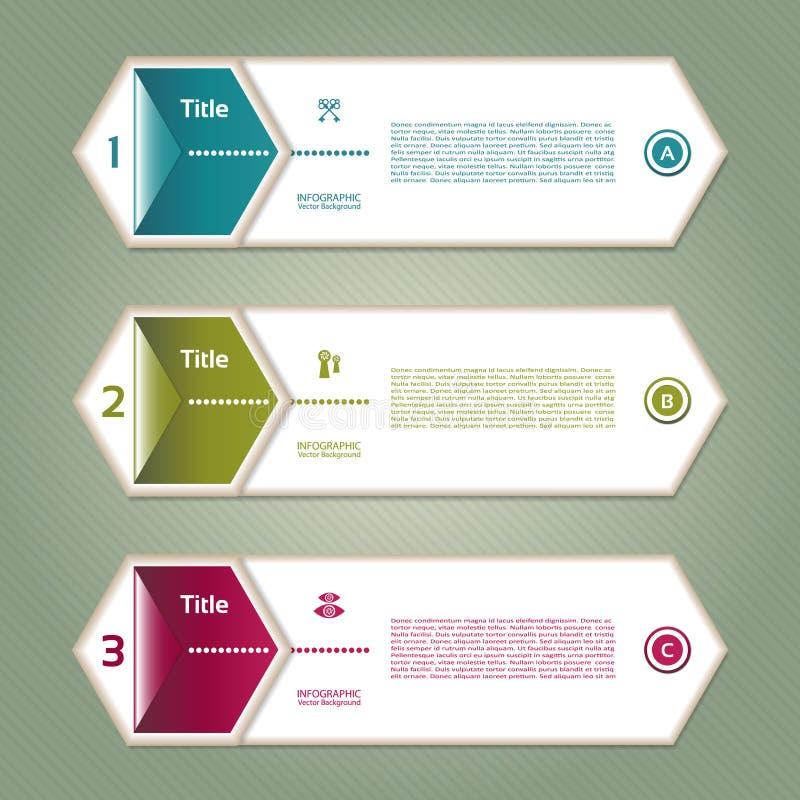 Διανυσματική υπόβαθρο προόδου/επιλογή ή έκδοση προϊόντων απεικόνιση αποθεμάτων