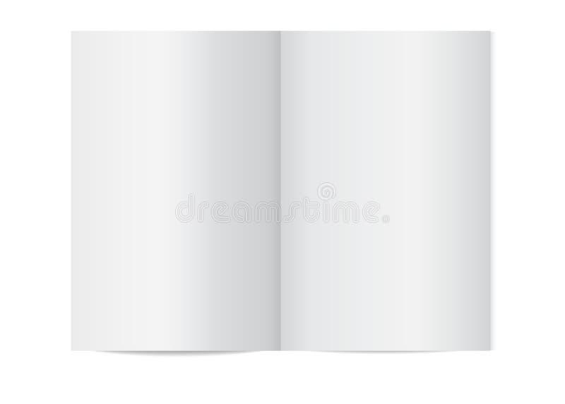 Διανυσματική χλεύη επάνω του βιβλιάριου που απομονώνεται διανυσματική απεικόνιση