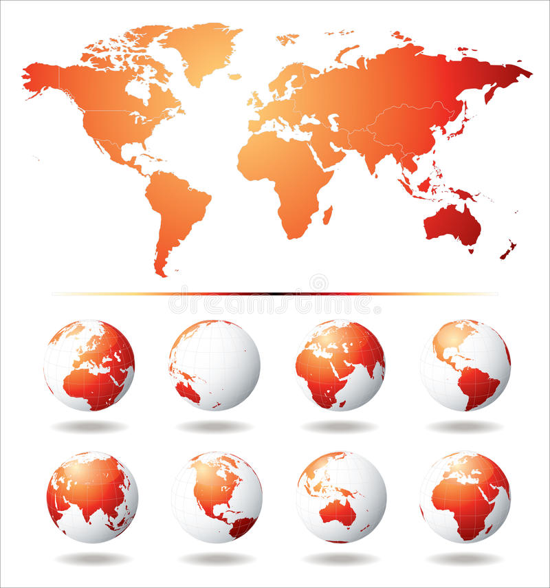 διανυσματικός κόσμος χα&r απεικόνιση αποθεμάτων