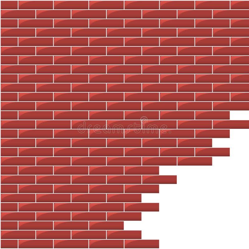 διανυσματικός τοίχος διανυσματική απεικόνιση