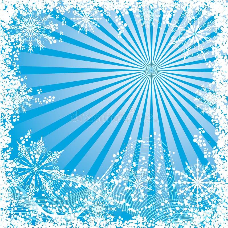 διανυσματικός χειμώνας Χ& απεικόνιση αποθεμάτων