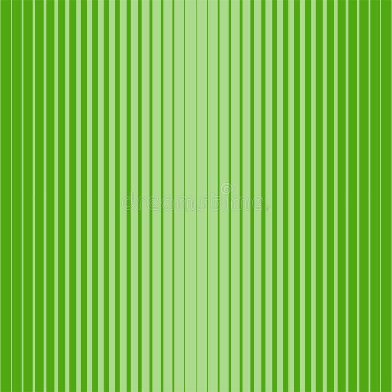 Διανυσματικό άνευ ραφής ημίτονο πράσινο σχέδιο - το φωτεινό γεωμετρικό σχέδιο, αφαιρεί το γραμμικό υπόβαθρο ελεύθερη απεικόνιση δικαιώματος