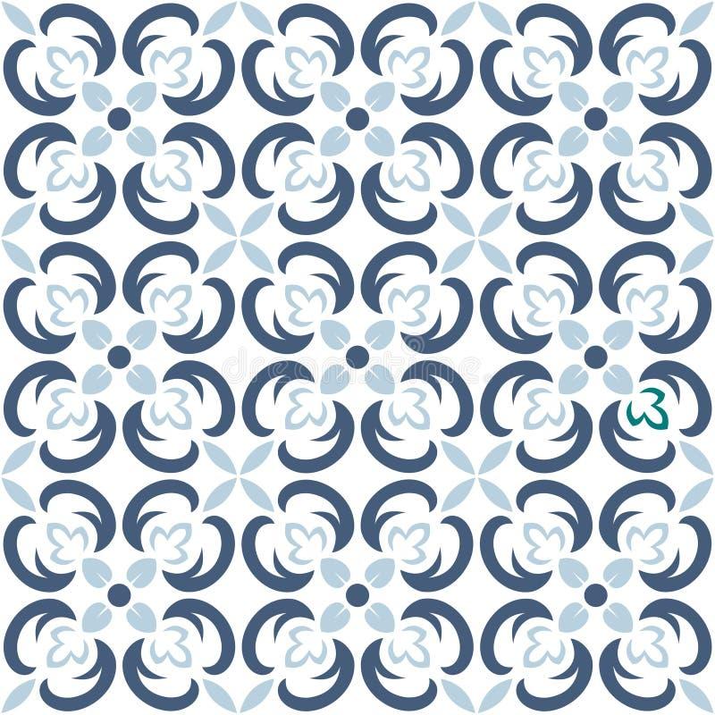 Διανυσματικό άνευ ραφής σχέδιο κεραμιδιών Η ατελείωτη σύσταση μπορεί να χρησιμοποιηθεί για την ταπετσαρία, το σχέδιο γεμίζει, υπό ελεύθερη απεικόνιση δικαιώματος