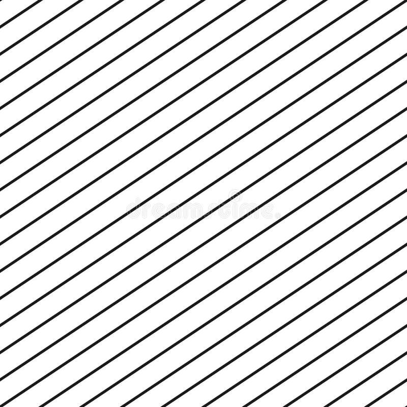 Διανυσματικό άνευ ραφής σχέδιο λωρίδων Επαναλάβετε τις διαγώνιες παράλληλες γραμμές ελεύθερη απεικόνιση δικαιώματος