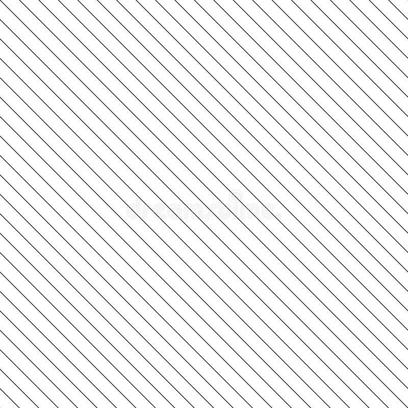 Διανυσματικό άνευ ραφής σχέδιο λωρίδων Λεπτή διαγώνια σύσταση γραμμών διανυσματική απεικόνιση