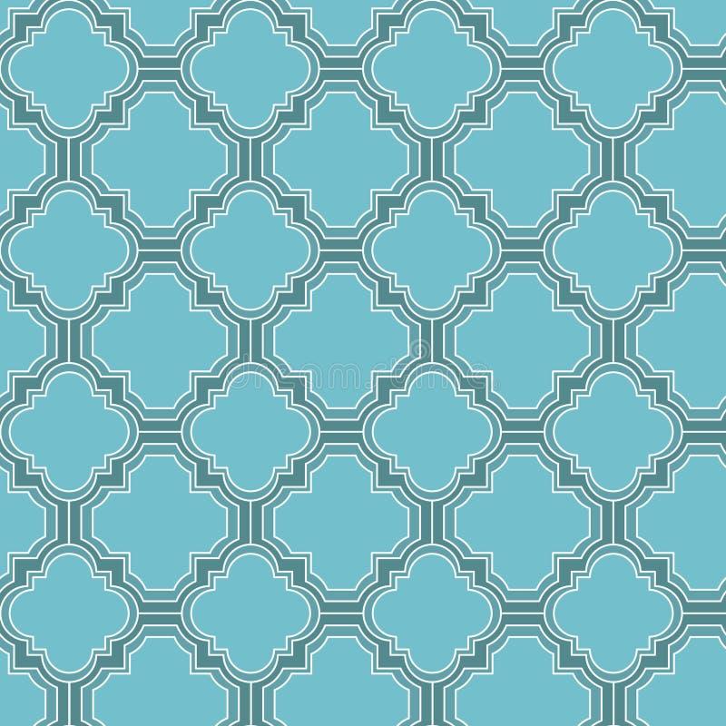 Διανυσματικό άνευ ραφής σχέδιο mozaic διανυσματική απεικόνιση